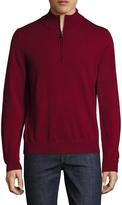 Brooks Brothers Men's BLNK Merino Half Zip Sweater