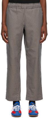 Rassvet Beige Plaid Trousers