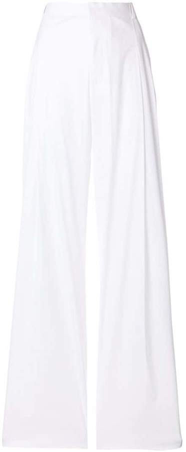Givenchy flared high-waisted trousers