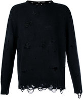 Takahiromiyashita The Soloist - destroyed jumper - men - Cashmere/Wool - 44