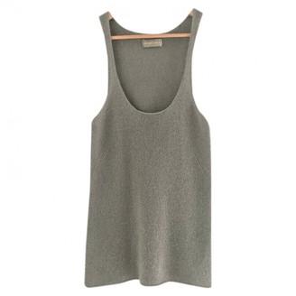 Zadig & Voltaire Khaki Cashmere Top for Women