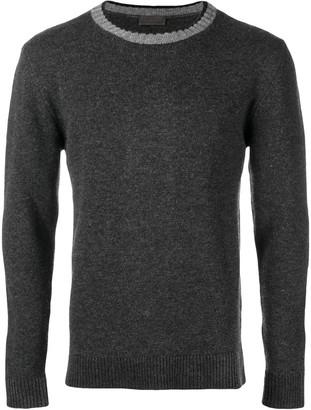 Altea contrast neckline jumper