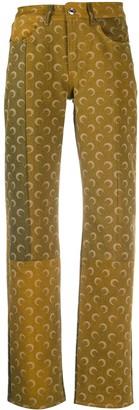 Marine Serre Patchwork Trousers