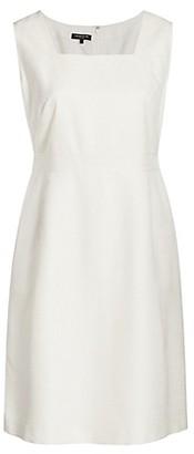 Lafayette 148 New York, Plus Size Monarch Weave Spencer Dress