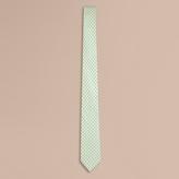Burberry Slim Cut Polka Dot Silk Tie