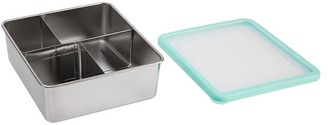 Pottery Barn Teen Clearwater Aqua Stainless Steel Bento Box