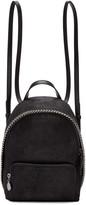 Stella McCartney Black Mini Falabella Backpack