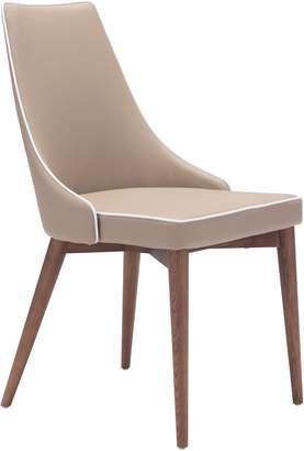 ZUO Modern Moor Dining Chair Set of 2