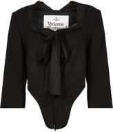 Vivienne Westwood Corset Jacket Sandstone Black Size 38