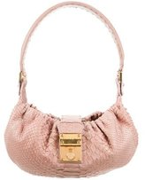 Ungaro Mini Python Shoulder Bag