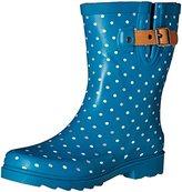 Chooka Women's Classic Dot Mid Rain Boot