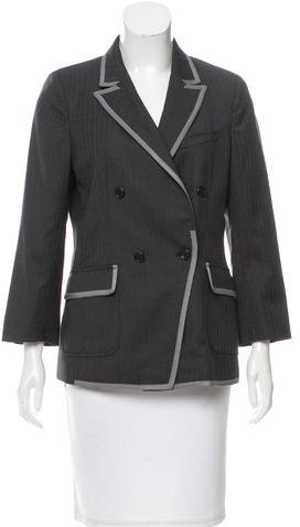 Boy By Band Of Outsiders Wool Double-Breasted Blazer