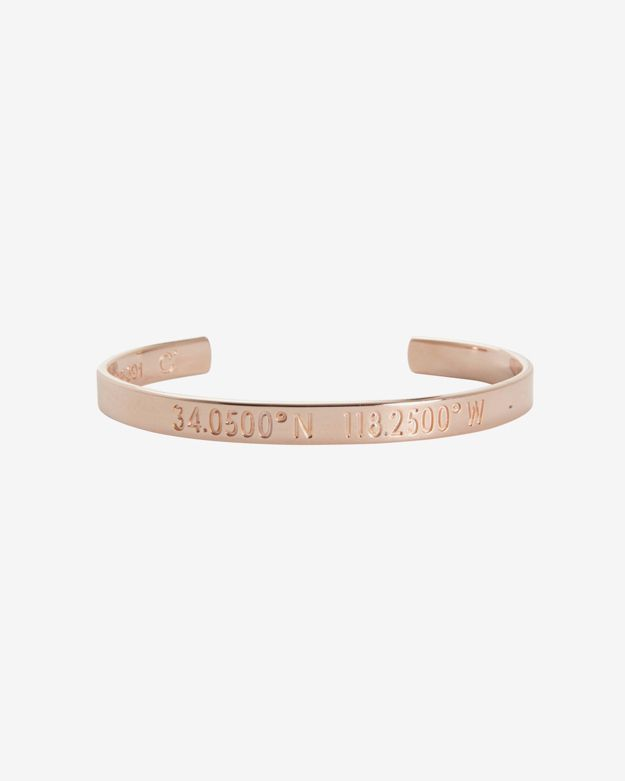 Coordinates Collection Los Angeles Rose Gold Cuff