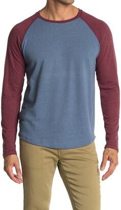 Marine Layer Raglan Sleeve Baseball T-Shirt