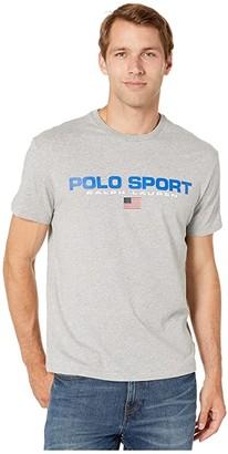 Polo Ralph Lauren Classic Fit Tee (Andover Heather) Men's Clothing