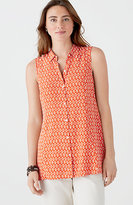 J. Jill Printed Sleeveless Top