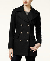 BCBGeneration Pleated Military Peacoat