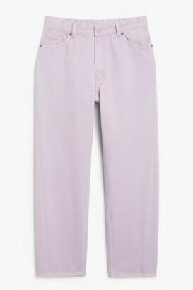 Monki Kyo purple jeans