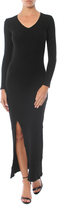 David Lerner Long Sleeve Dress With Slit