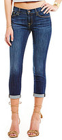 7 For All Mankind Nouveau New York Dark Rolled Jeans