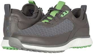 Johnston & Murphy XC4(r) Golf H1-Sport Hybrid Sneaker (Black Mesh/Waterproof Full Grain) Men's Shoes