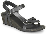 Teva YSIDRO UNIVERSALWEDGE - METALLIC women's Sandals in Brown