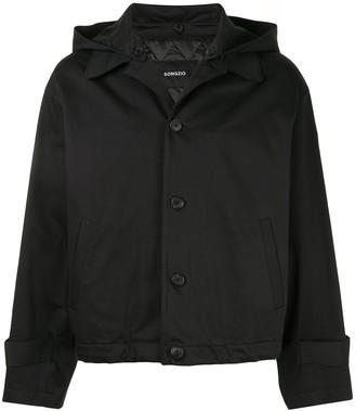 SONGZIO Crop Hooded Jacket