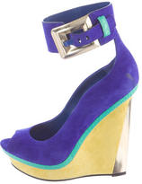 Brian Atwood Alouette Platform Wedges