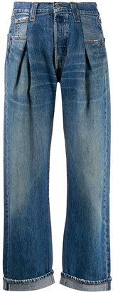 RE/DONE Pleat Front Jeans