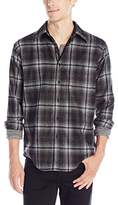 Pendleton Men's Long Sleeve Fitted Button Front Trail Shirt