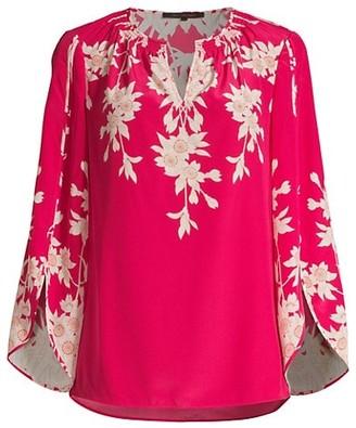 Kobi Halperin Cooper Floral Silk Blouse