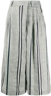 Lorena Antoniazzi cropped palazzo trousers