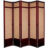 Oriental Furniture Extra Large Durable, 7-Feet Jute Fiber Japanese Shoji Room Divider