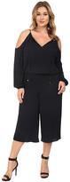 MICHAEL Michael Kors Size Cold Shoulder Jumpsuit