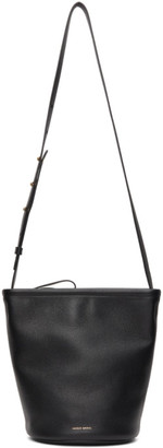Mansur Gavriel Black Zip Bucket Bag
