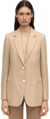 Victoria Beckham Tailored Wool Blend Jacket