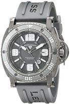 Swiss Legend Men's 11503-GM-014 Typhoon Analog Display Swiss Quartz Grey Watch