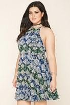 Forever 21 FOREVER 21+ Plus Size Tribal Print Dress