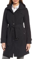 MICHAEL Michael Kors Women's Packable Trench Coat With Hood