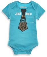 Kidtopia Just Hired as Little Brother Bodysuit in Turquoise