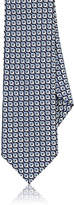 Barneys New York Men's Geometric-Print Silk Jacquard Necktie