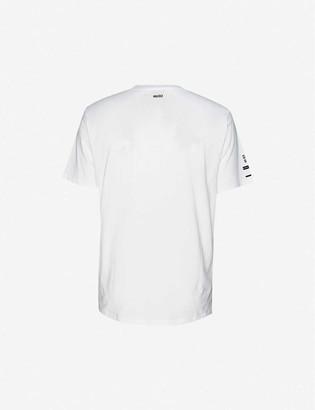 HUGO BOSS Berlin-print cotton-jersey T-shirt