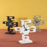Umbra Small Time Desk Clock, White