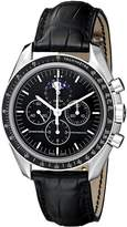 Omega Men's 3876.50.31 Speedmaster Moon Phase Dial Watch