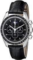 Omega Men's 3876.50.31 Speedmaster Moon Phase Dial Watch