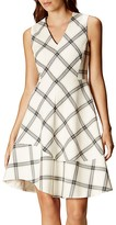 Karen Millen Check Print Dress