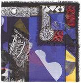 Versace Medusa scarf - men - Silk/Modal - One Size