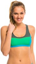 Prana Women's Colorblock Isma Sports Bra Bikini Top 8136359