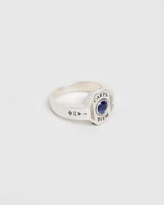 Serge DeNimes - Men's Blue Rings - Carpe Diem Ring - Size 18MM, 18 at The Iconic