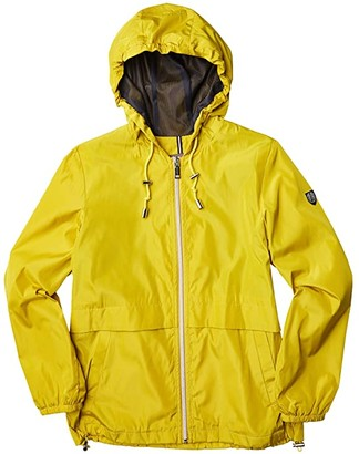 Vince Camuto Hooded Short Jacket V10725-ZA (Chartruese) Women's Clothing